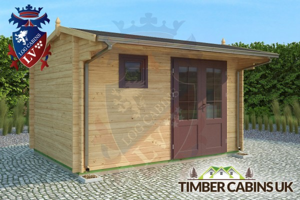 Log Cabin Braintree 4m x 3m 001