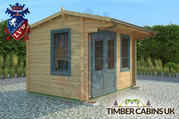 Log Cabin Thurrock 3.5m x 2.5m 001