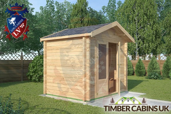 Log Cabin Blackpool 2.5m x 2m 001