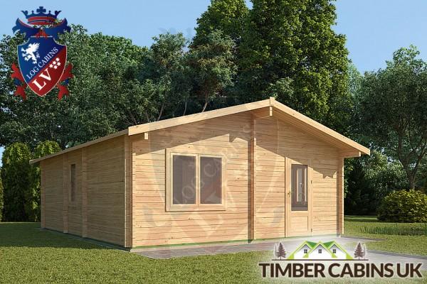 Log Cabin Blackpool 6m x 7m 001