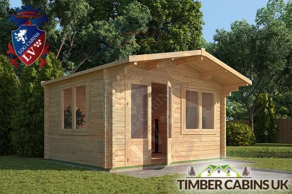 Log Cabin Brighton 4m x 3m 001