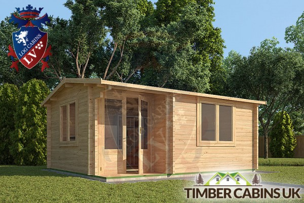 Log Cabin Carmarthenshire 5m x 4m 001