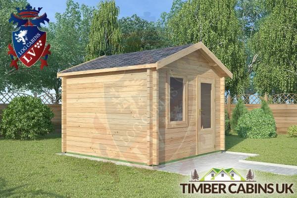 Log Cabin Carnforth 3m x 3m 001