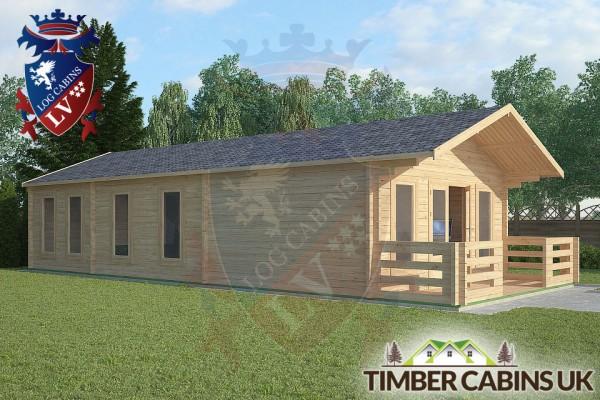Log Cabin Carnforth 5m x 11m 001