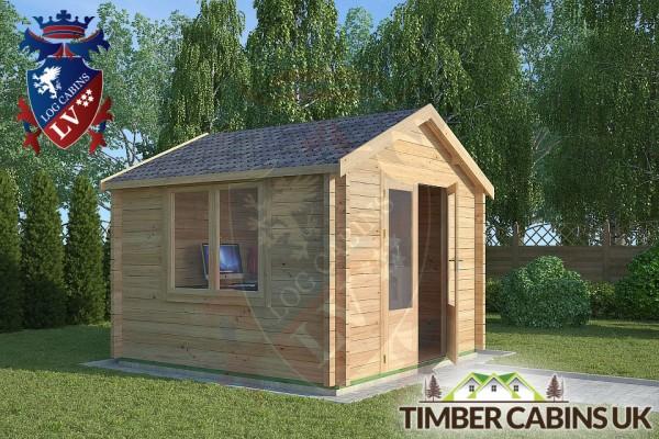 Log Cabin Clitheroe 3m x 3m 001