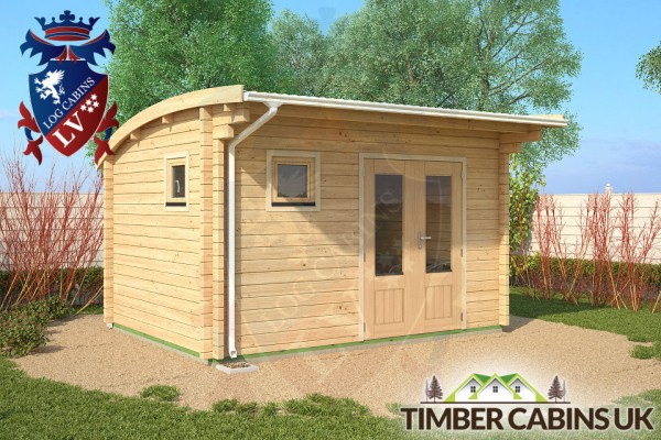 Log Cabin Fife 4m x 3m 001