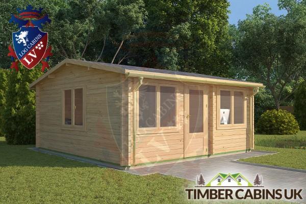 Log Cabin Great Altcar 5.5m x 5m 001