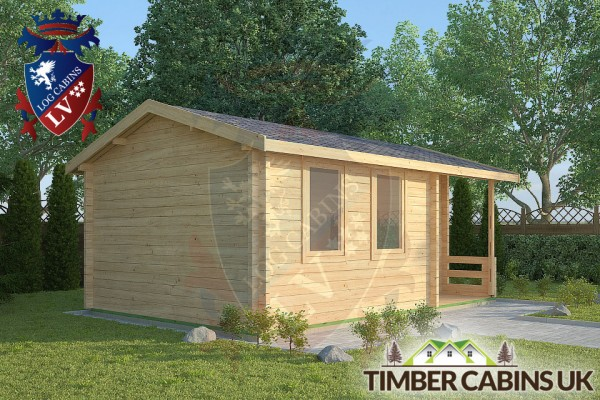 Log Cabin Hesketh Bank 5.5m x 3.5m 001