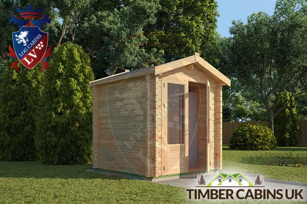 Log Cabin Knowsley 2m x 2m 001