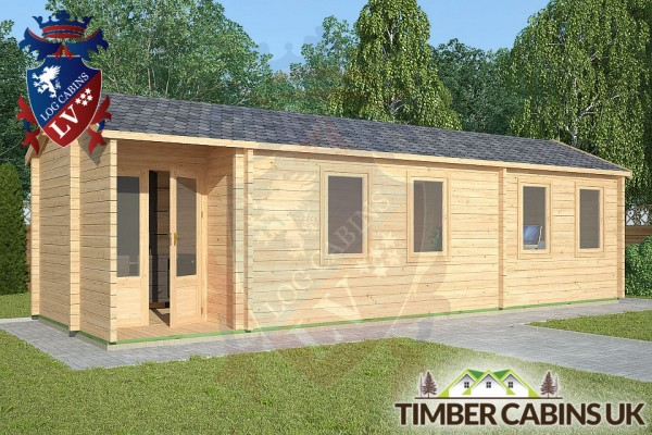 Log Cabin Leyland 9m x 3m 001
