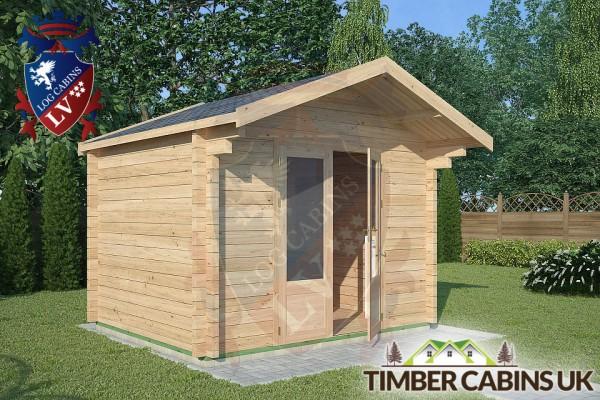 Log Cabin Manchester 3m x 2.5m 001