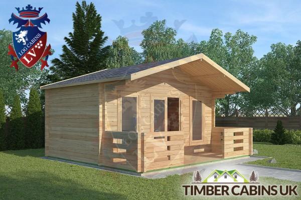 Log Cabin Morecambe 5m x 3m 001