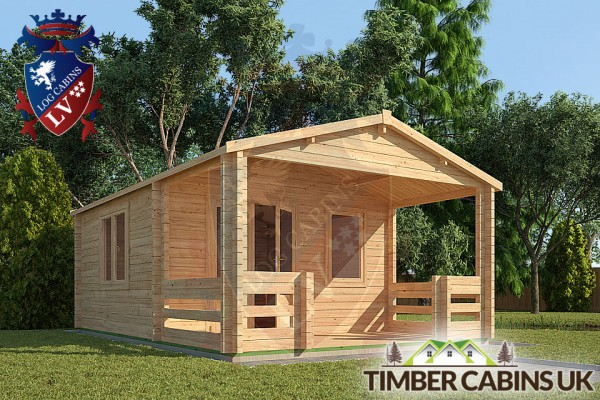 Log Cabin New Forest 4m x 6m 001