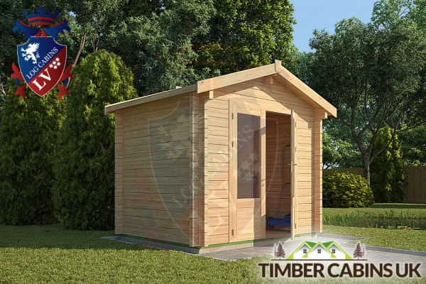 Log Cabin North Lincolnshire 2.6m x 2m 001