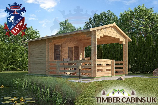 Log Cabin Sevenoaks 3.3m x 5.4m 001