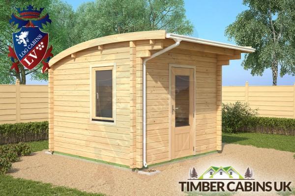 Log Cabin Sheffield 3m x 3m 001