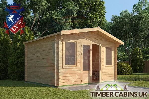 Log Cabin South Tyneside 4m x 3m 001