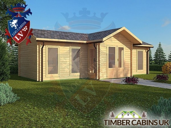 Log Cabin Thornton 8.5m x 4.5m 001