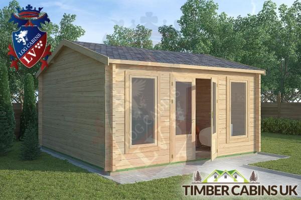 Log Cabin Waddington 4.5m x 4.5m 001