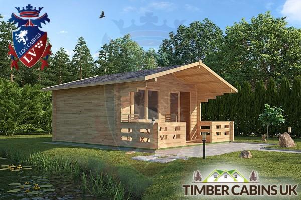 Log Cabin West Lancashire 4.5m x 3.6m 001