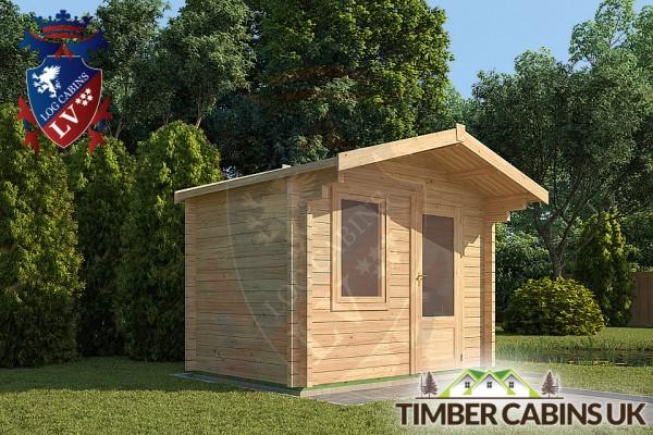 Log Cabin West Lothian 3m x 2m 001