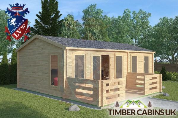 Log Cabin Wrightington 7.5m x 4.5m 001