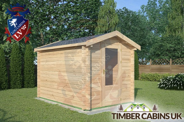 Log Cabin Accrington 2m x 3m 001