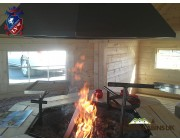 Timber Cabins UK - The Grill Log Cabin 9.2m2 002