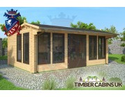 Log Cabin East Ayrshire 5.9m x 4m 001