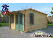Log Cabin Bridgend 3.5m x 4.5m 002