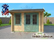 Log Cabin Bridgend 3.5m x 4.5m 003