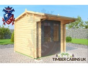 Log Cabin Canterbury 2.5m x 2.5m 001