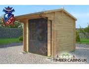 Log Cabin Canterbury 2.5m x 2.5m 002