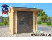 Log Cabin Canterbury 2.5m x 2.5m 003
