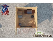 Log Cabin Canterbury 2.5m x 2.5m 004