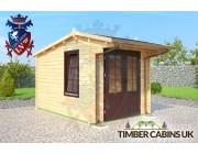 Log Cabin Dacorum 2.5m x 3.5m 001