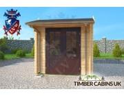 Log Cabin Dacorum 2.5m x 3.5m 003