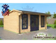 Log Cabin East Devon 5m x 4m 001