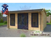 Log Cabin East Devon 5m x 4m 002