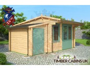Log Cabin East Lindsey 5m x 4.5m 001