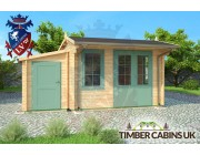 Log Cabin East Lindsey 5m x 4.5m 003
