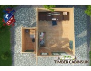 Log Cabin East Lindsey 5m x 4.5m 004
