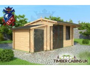 Log Cabin Elmbridge 5.5m x 3m 001