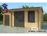 Log Cabin Elmbridge 5.5m x 3m 002