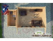 Log Cabin Elmbridge 5.5m x 3m 004