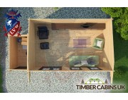 Log Cabin Epping Forest 7.0m x 3.5m 004