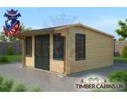 Log Cabin Guildford 4.5m x 4.5m 002