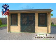 Log Cabin Guildford 4.5m x 4.5m 003