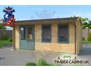 Log Cabin Halton 5.5m x 2.5m 002