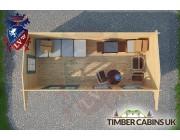Log Cabin Halton 5.5m x 2.5m 004